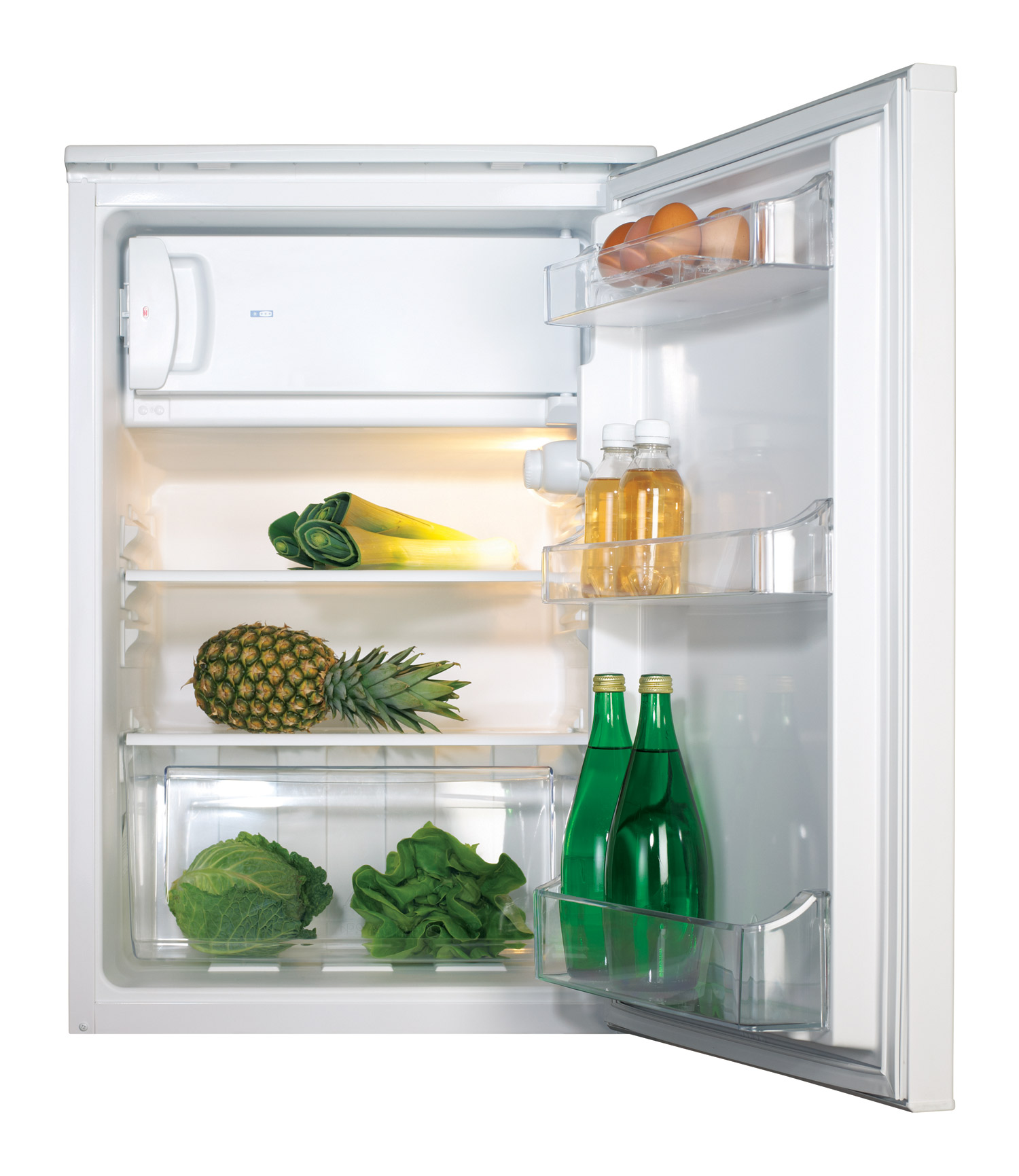CDA Freestanding Under Counter Fridge with Ice Box