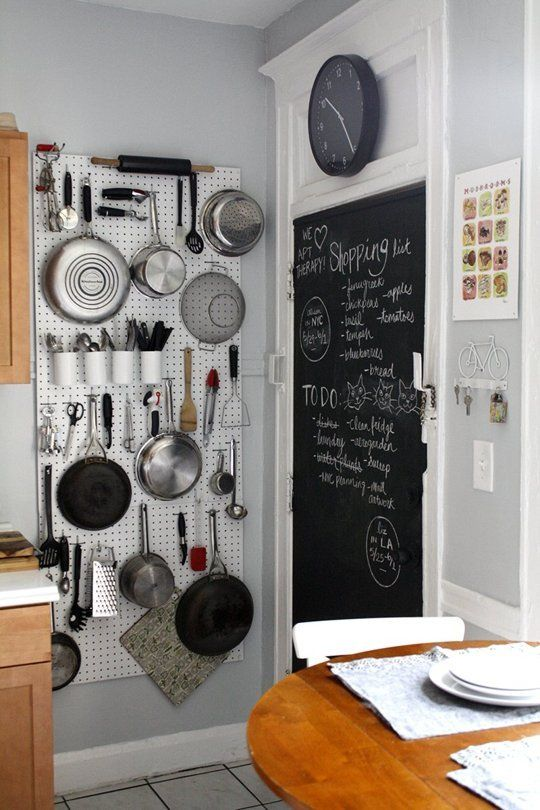 small kitchen wall mounted storage